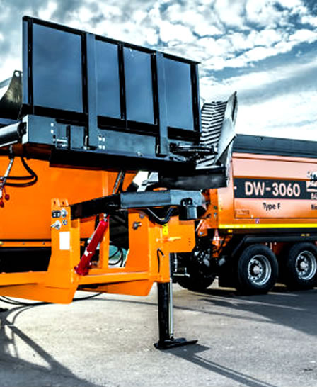 PPM Ltd Recycling Equipment Hire Doppstadt DW 3060 Type F Bio