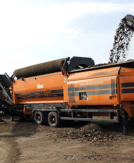 PPM Ltd Recycling Equipment Hire Doppstadt SM 620