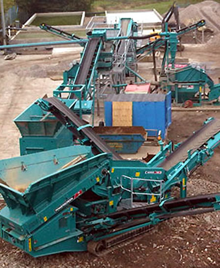 PPM Ltd Recycling Equipment Hire Powerscreen Warrior 800