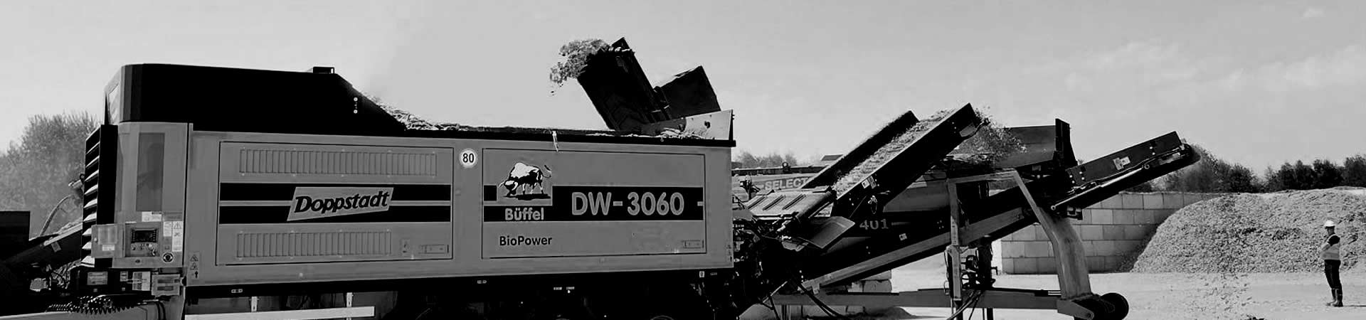 Doppstadt DW 3060 Type F Bio Shredder Header