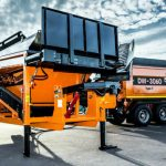 Doppstadt DW 3060 Type F Bio Shredder Hire in UK 4