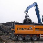 Doppstadt DW 3060 Type F Bio Shredder Hire in UK 7